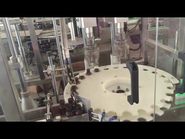 سعر المصنع عالية السرعة آلة السيارات متوجا لغطاء زجاجة دوارة