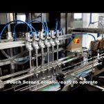 التلقائي 6 رؤساء الاستغناء عن المنظفات السائلة ملء آلة خط حشو الكلور