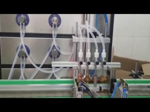 آلة تعبئة زجاجة مستحضرات التجميل 10 مل 30 مل 60 مل 100 مل للسوائل