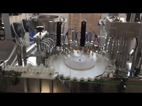 آلة السد الدوارة عالية الدقة للصناعات الغذائية والصلصات ومستحضرات التجميل