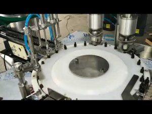 كامل تلقائي صغير الحجم الضروري ملء آلة سد الزيت