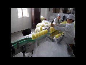 التلقائي المكبس صابون سائل غسل اليدين المطهر ملء آلة