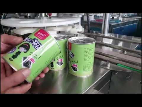 آلة تعبئة الزجاجات السائلة الأوتوماتيكية الكاملة مع كابر