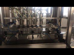 عالية الدقة 5l زيت المحرك تليين زجاجة ملء آلة حشو