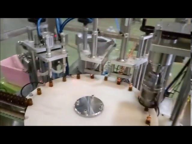 التلقائي زجاجة البريد السائل 10 مل ملء آلة سد السد