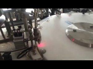 آلة تعبئة زجاجة طلاء الأظافر الأوتوماتيكية 30-50 نبضة في الدقيقة