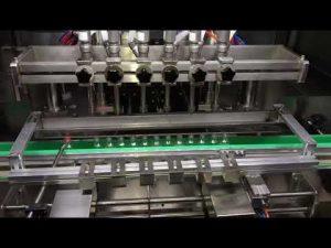 آلة تعبئة هلام مطهر الكحول الأوتوماتيكية للصناعات الكيماوية اليومية