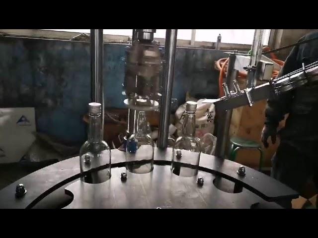 آلة تغطية وختم غطاء الألمنيوم الأوتوماتيكي التجاري