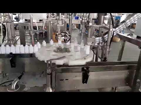 مستحضرات التجميل الطبية زجاجة بلاستيكية ملء آلة السد