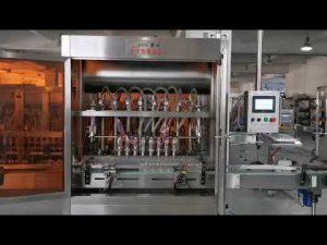 آلة تعبئة سيرفو صلصة الطماطم الأوتوماتيكية الكاملة