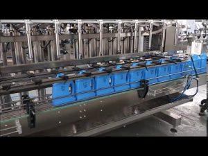 التلقائي المطهر السائل حشو آلة تعبئة زجاجة مكبس آلة