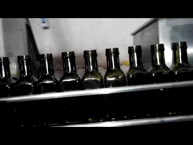 زيت زيتون أوتوماتيكي كامل 6 فوهات حشو زجاجة زيت