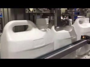 التلقائي ملء 4 فوهات السائل وكريم ملء آلة رقمية