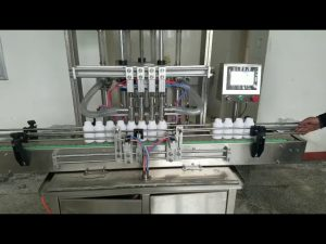 التلقائي ملء آلة معجون سائل لزج للصابون السائل ، غسول الجسم ، الشامبو