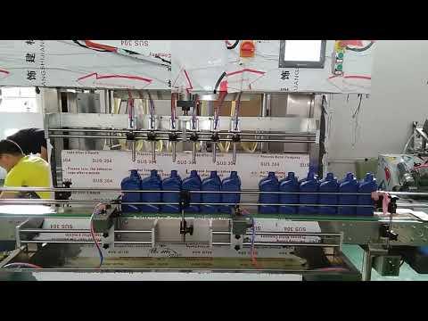 الصين التلقائي 5000 مل لوب زيت المحرك ملء آلة لصناعة السيارات